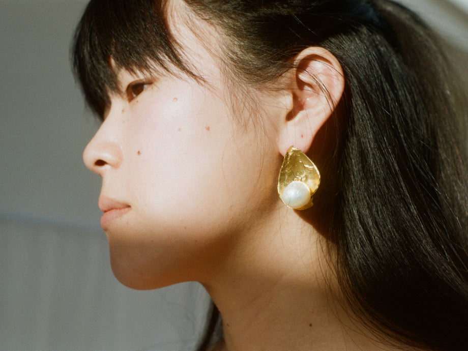 The Lunar Secret Earring