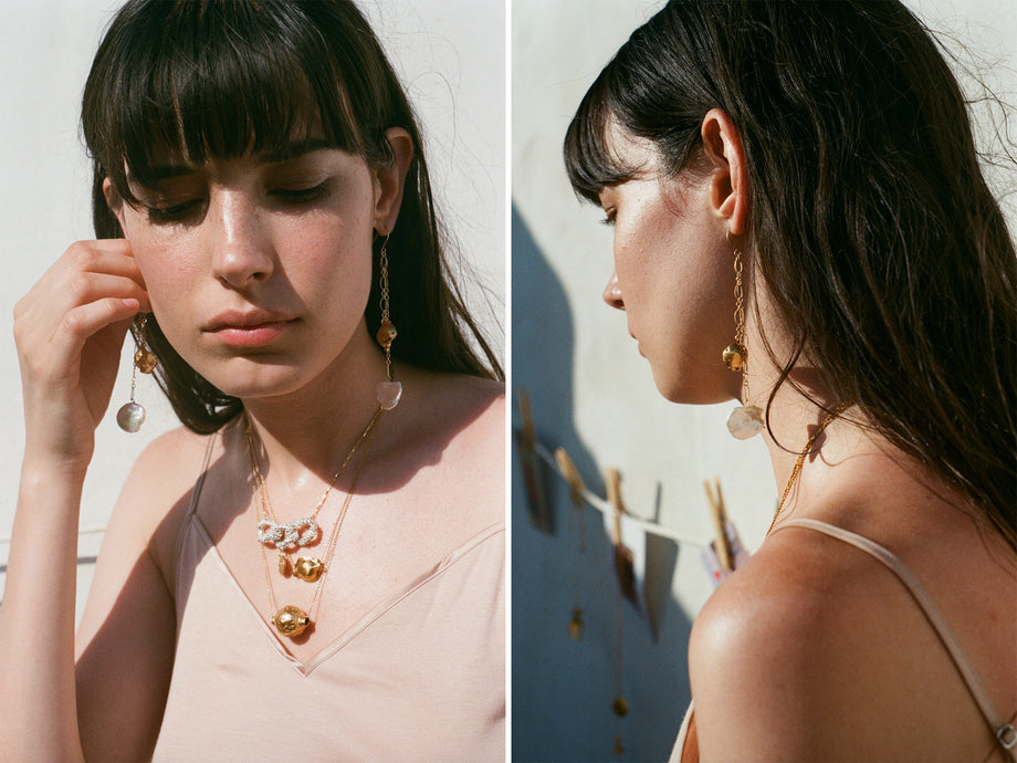 The Moon Fever Earrings