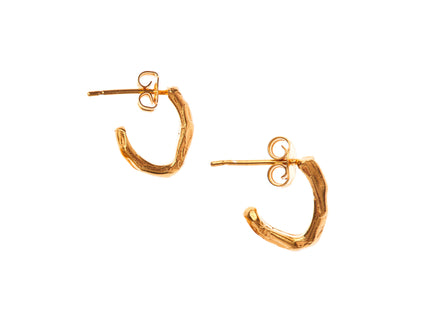 The Silent Sun Hoop Earrings