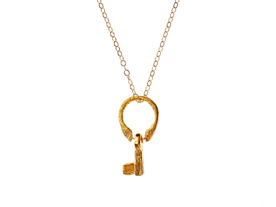 The Key of Vulnerability Necklace