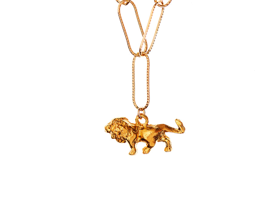 The Travelling Lion Necklace