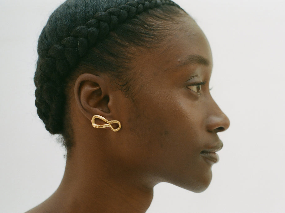 The Distant Mountain Earrings