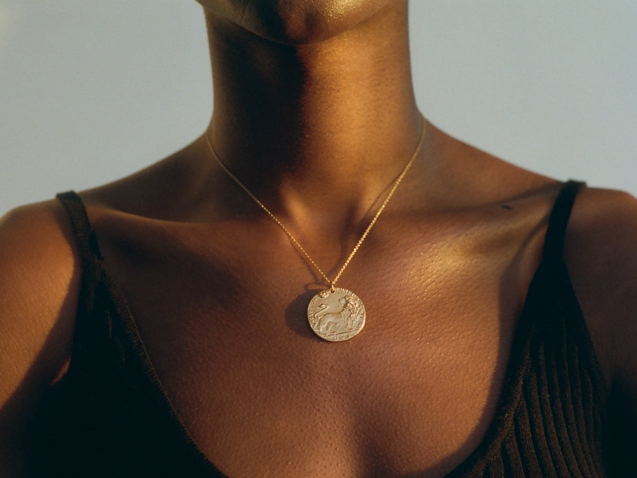 Il Leone Medallion Necklace