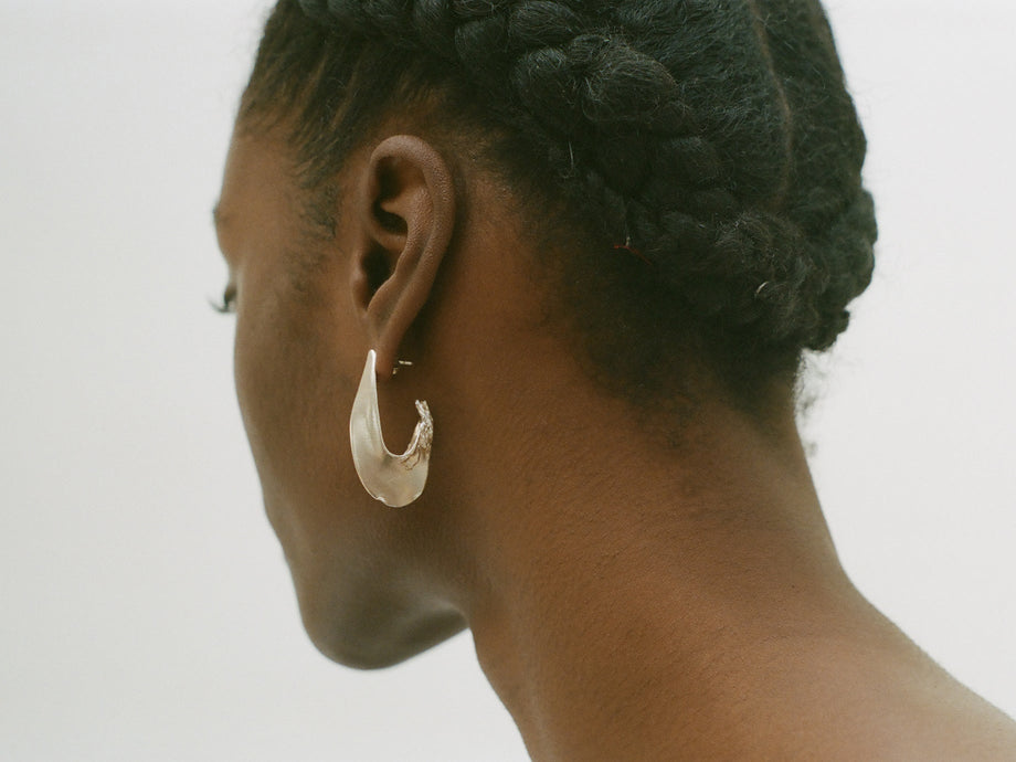 The Il Leone Earrings 2.0 // Silver