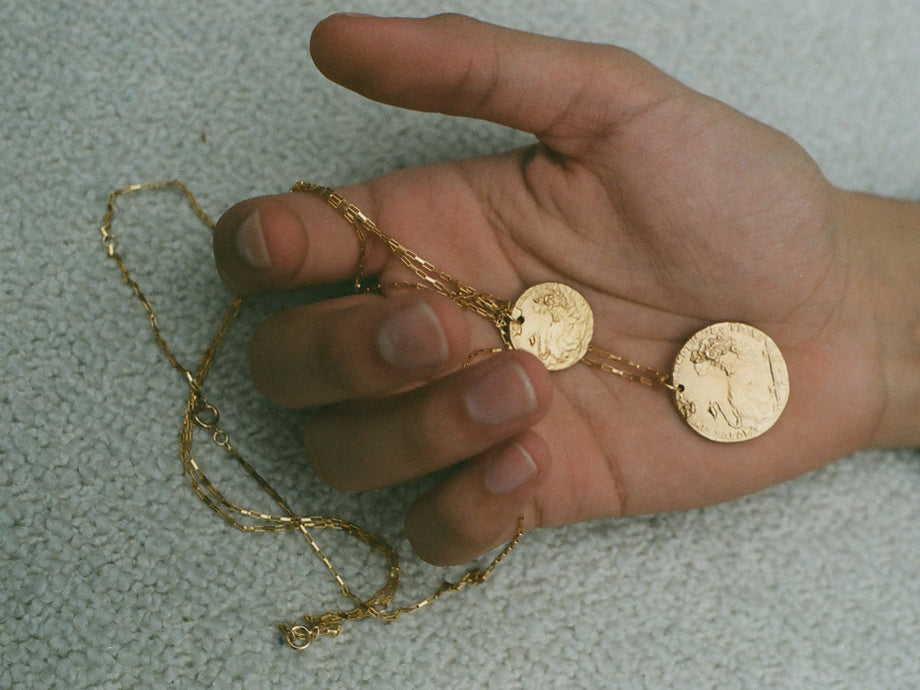 Il Leone Medallion // MAN Necklace