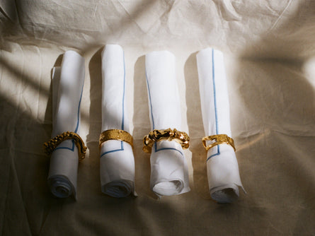 The Selva Oscura Napkin Ring Set