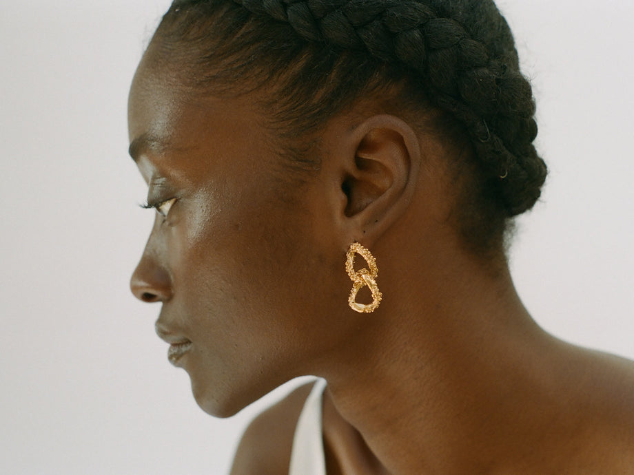 The Rocky Road Earrings