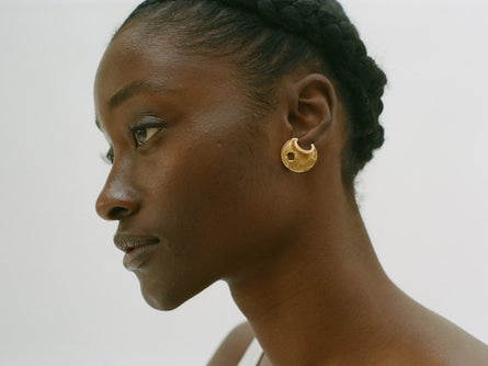 The Shield of Poetry Earrings