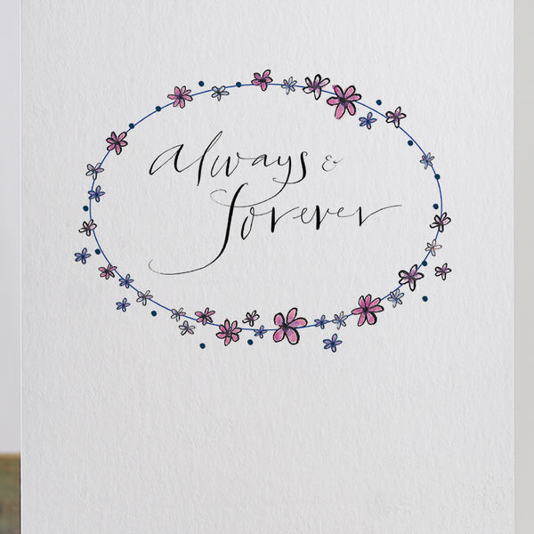 'Always & Forever' Card