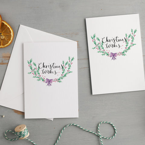 'Christmas Wishes' Christmas Card Pack