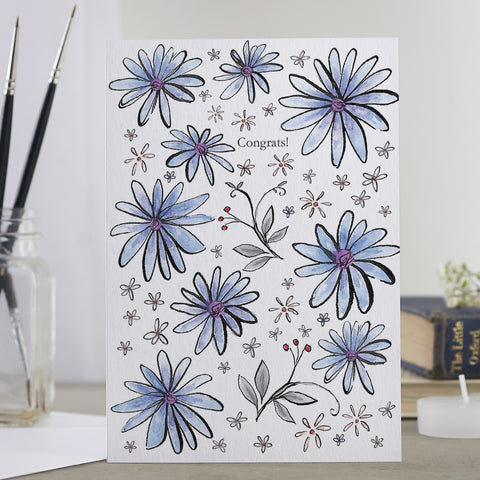 'Congrats' Decorative Card