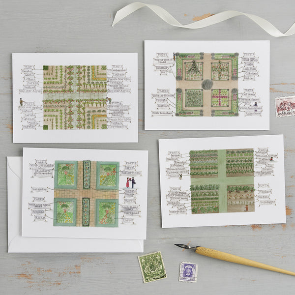 The 'Garden Plots' Postcard Set