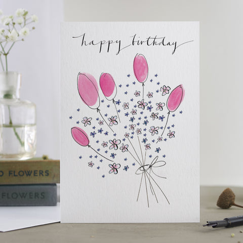 'Happy Birthday Bouquet' Card