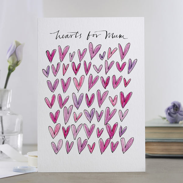 'Hearts For Mum' Card