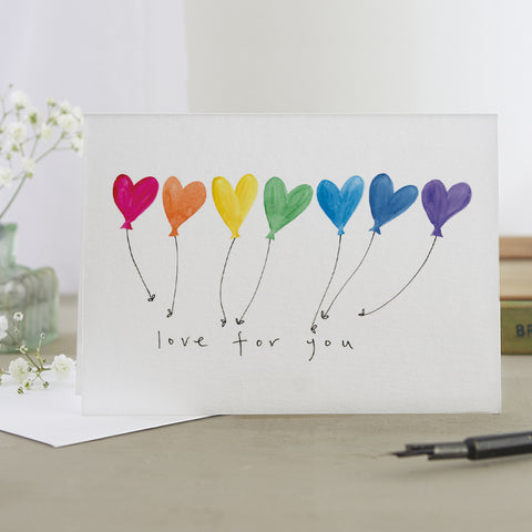 'Love For You' Card