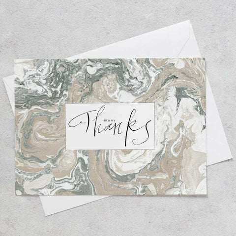 'Thank You' Correspondence Cards