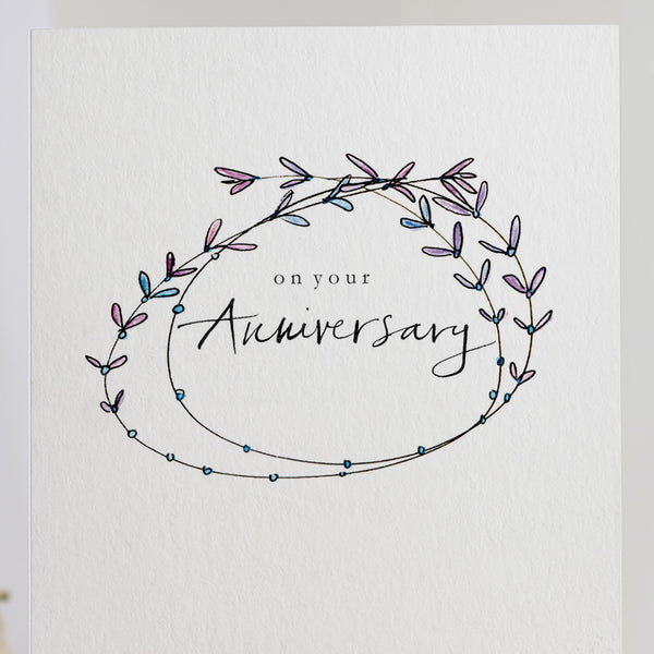 'On Your Anniversary' Card