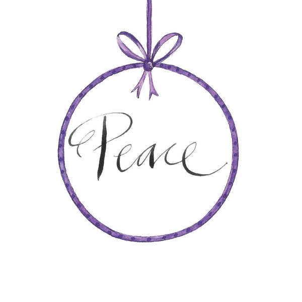 'Peace' Christmas Card Pack