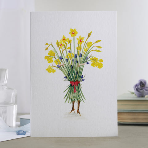 'Spring Bouquet' Floral Card