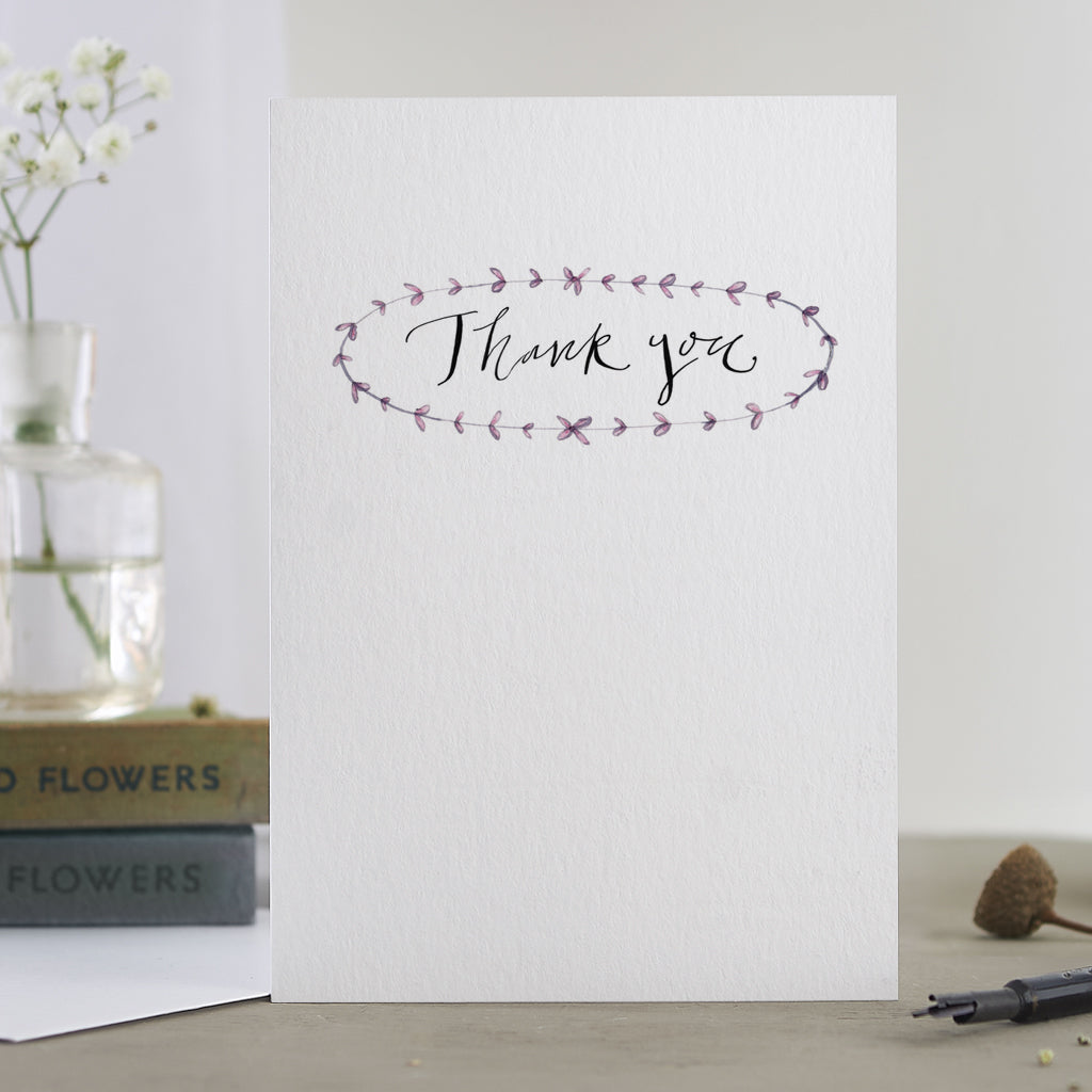 'Thank You' Card (vintage)