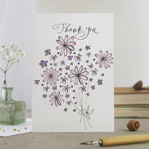 'Thank You Bouquet' Card