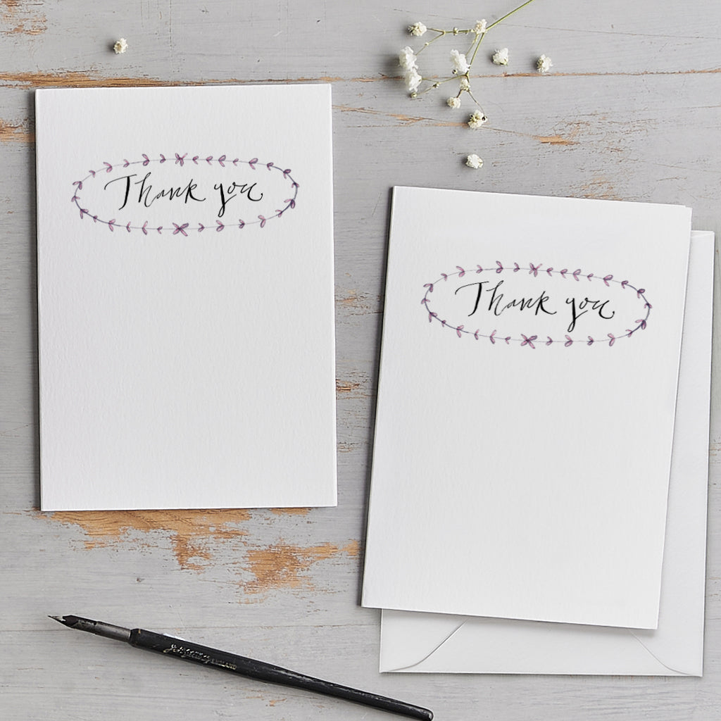 'Thank You' Card Pack
