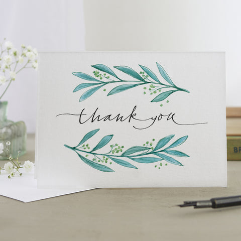 'Thank You' Border Card