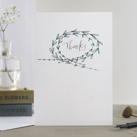 'Thanks' Card