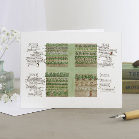 'The Kitchen Garden' Card