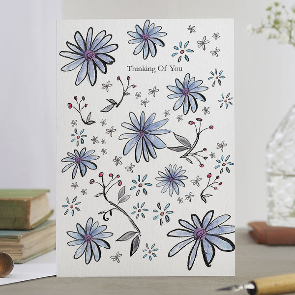 'Thinking Of You' Flower Card