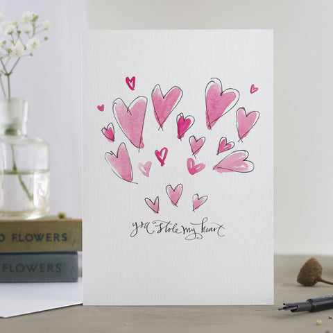 'You Stole My Heart' Card