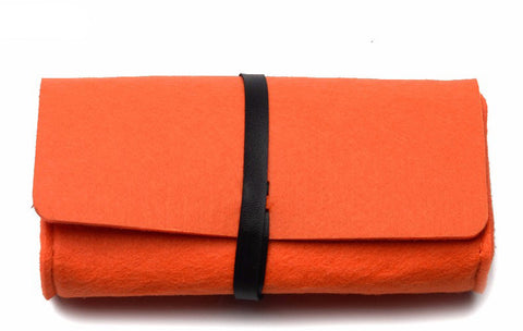 The Felt Case (Orange)