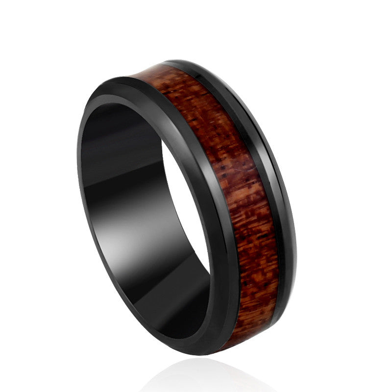 The Solid Wood Ring