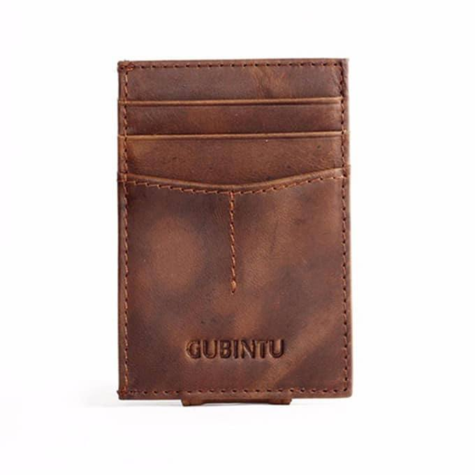 Gubintu Leather Cardholder