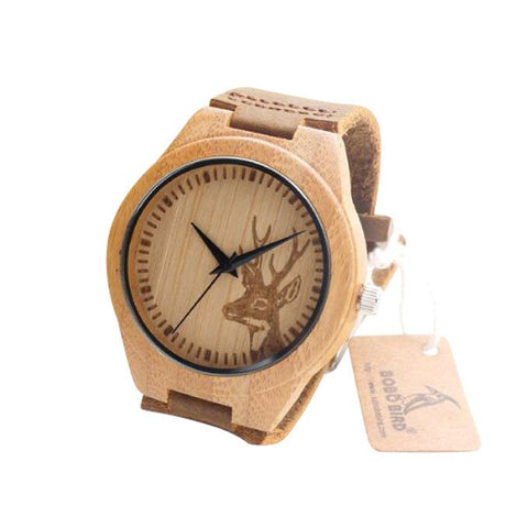The Bold Wood Watch