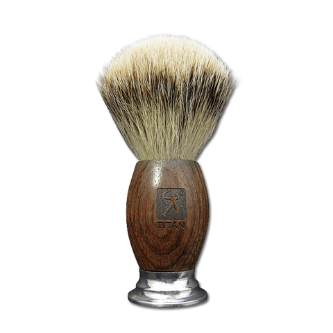 Titan Wood Shaving Brush