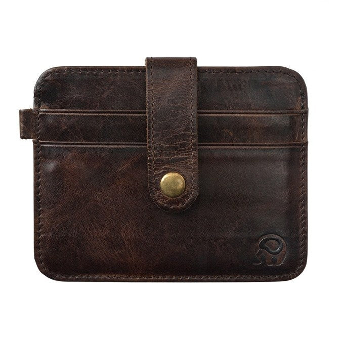 Vintage Leather Cardholder