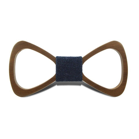 Wood Bowtie Classic Walnut