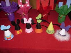 10Pcs Mickey And Friends Party Hats