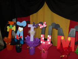 1Pcs Decorated Letters