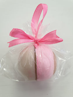 Eternal Sparkle Pearl Soap Ball on a Ribbon