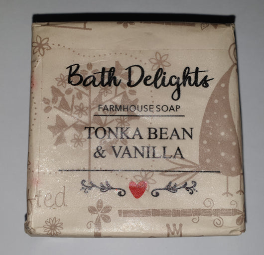 Hand Made Farmhouse Soap - Tonka Bean and Vanilla
