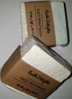 Hand made Salt Soap Bar