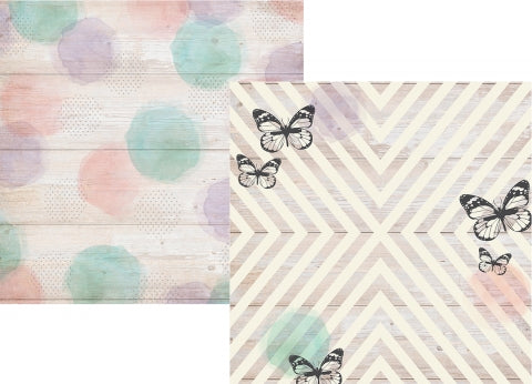 1pcs Double Sided Bliss Paper Collection