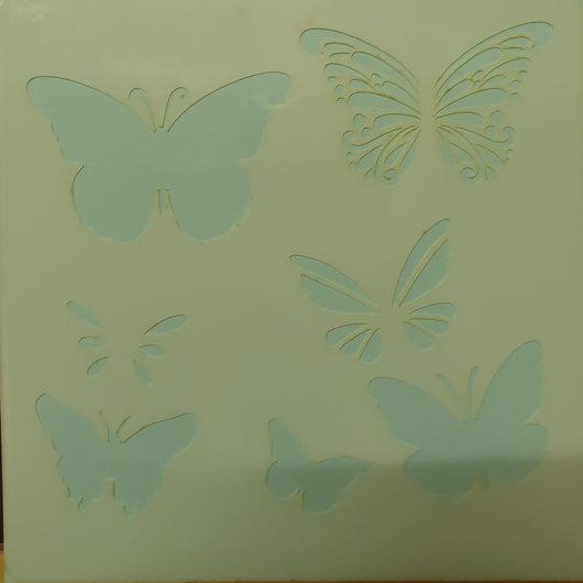 Layering Butterfly Stencil