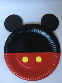 Mickey or Minnie Mouse Paper Plates