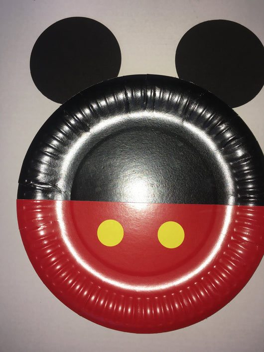 1Pcs Mickey Mouse Paper Plates