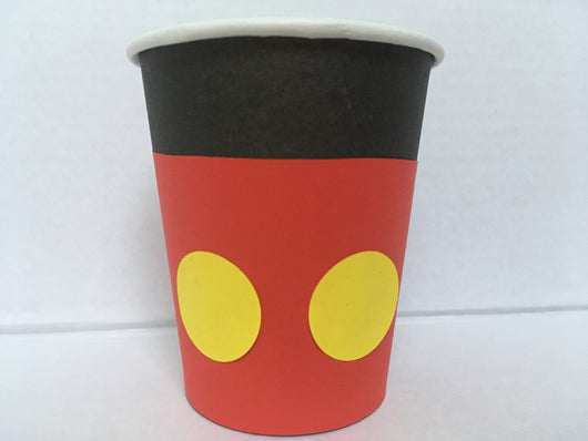 20Pcs Mickey Or Minnie Mouse Paper Cups