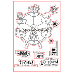 You are Wheely Cool Stamp set
