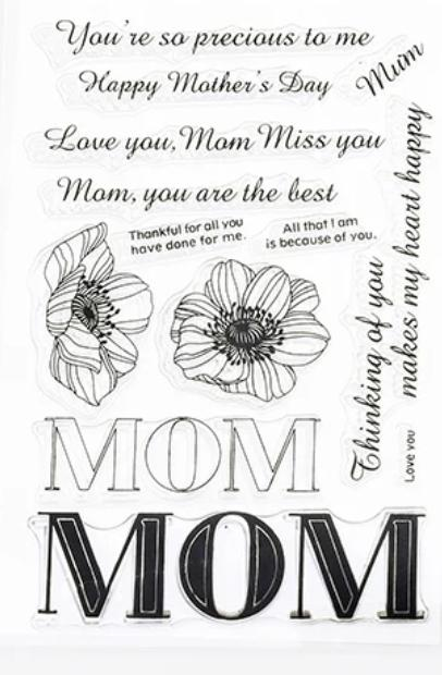Mom Stamp Set